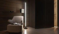 조정 가능/변경 가능한 회전 220° 현대적인 디자인의 LED 플로어 램프 튜브 색상 아트 램프 변경