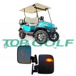 Carrinho de golfe ajustável ABS espelhos com sinais de mudança de LED para o Automóvel Clube