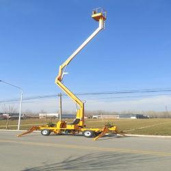 Raccoglitrice di ciliegie Qiyun 8m 10m 12m 14m 16m altezza 200kg Capacità di carico sollevamento braccio del rimorchio utilizzata per la manutenzione del sollevamento Attrezzatura con OEM/ODM