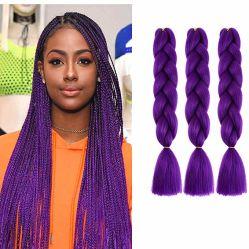 Wendyhair sui capelli enormi di estensione di vendita per l'intrecciatura sintetica di Xpression
