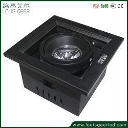 مصابيح LED غائرة قابلة للضبط مضادة للتوهج، مصابيح كشية شبكة LED