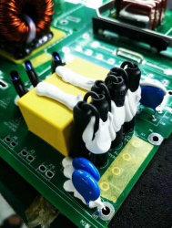 Тепловой токопроводящие силиконовой резины вставки