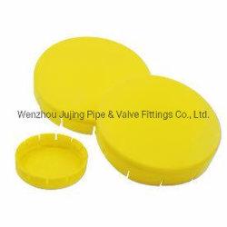 DIN fora da montagem protectores de flange DN15-DN500 Amarelo as coberturas do flange