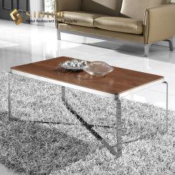 Optable Color основание из нержавеющей стали Фанера Movable Rectangle кофейный стол