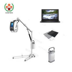 Sy-D019c haute fréquence de l'hôpital de 8 kw machine à rayons X numériques portables