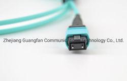 40g de fibra óptica de la red de 100g MPO Cable Unifiber MTP Solución de Cableado del centro de datos