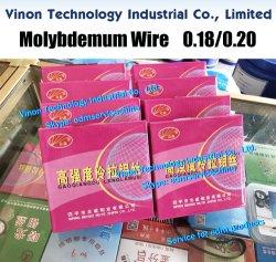 (5 bobine/Lotto) 0.20mm*2000metri filo EDM molibdeno (marchio Zhongsen) per macchina WEDM-HS selezionare il diametro di cui si ha bisogno
