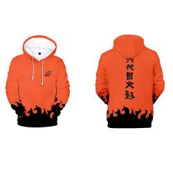 Designer 3D stampato Graphic ANIME Cloth Jacket Merch Naruto Akatsuki Felpe con cappuccio