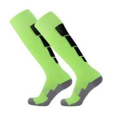 La fábrica de logotipo personalizado Wholesales Wholesales antideslizante de la Juventud de algodón de alta en la rodilla calcetines de fútbol