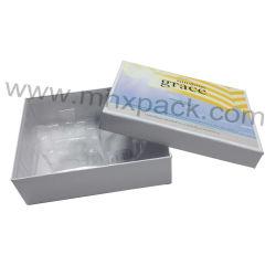 Kosmetisches Papiergroßhandelsgeschenk-verpackenkasten mit Haustier-Einlage