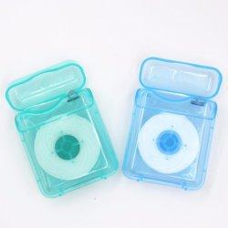 Cadeaux de petits carrés de soins dentaires de la promotion de la soie dentaire en PTFE