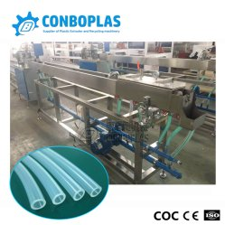 Высокая точность прозрачный пластиковый ПВХ/PE ЭБУ системы впрыска медицинских трубопровода шланга трубки экструзии производственной линии