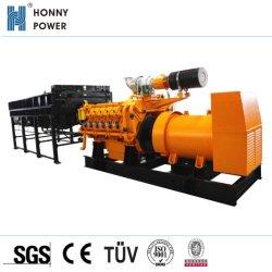 200-2000kw Gas Natural La construcción generador de gas industrial