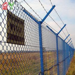 Perímetro de seguridad del aeropuerto El aeropuerto de valla valla de malla de alambre de la Frontera