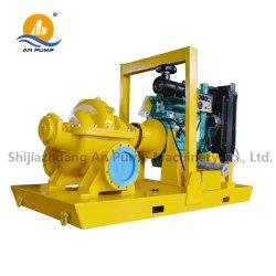 농업 관개 고압 원심 디젤 엔진 물 쪼개지는 상자 펌프