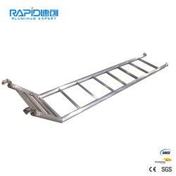 Extension de pliage d'aluminium métallique ANSI Dock Étape pour la vente de l'échelle d'Échafaudage