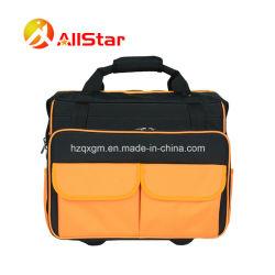 حقيبة حامل كهربائية حديثة التصميم مع عجلات مزدوجة و شريط الشد