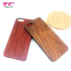 L'artisanat téléphone mobile téléphone bambou Shell bois véritable étui pour iPhone le couvercle arrière