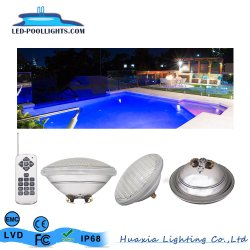 Оптовая торговля 18W 24W 35Вт PAR56 подводный светодиодный бассейн лампа линейных/конкретные бассейн