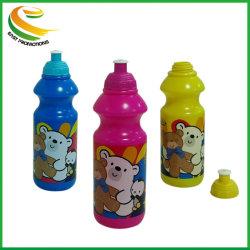 Bon marché de gros bon voyage de qualité PE Plastique Bouteille d'eau de sport
