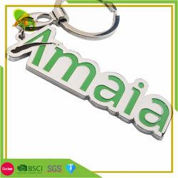 Accessoires de Mode personnalisé trousseau de clés de téléphone de l'aluminium métallique avec époxy (038)
