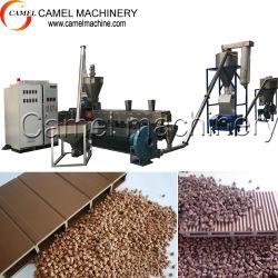 Le WPC bouletage Composite bois plastique granulateur extrusion de l'extrudeuse Pellet granulés des granules de faire de ligne de machine de recyclage de plastique