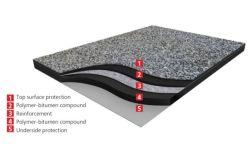 La Base de bajo precio Mateo Mat/ Impermeabilización de cubiertas de fieltro de fibra de vidrio de la fábrica