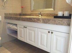 Un design moderne salle de bain haut de la vanité de stratifié /murale Lowes Salle de bains