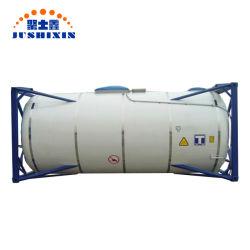 Goede Prijs 20ft/40ft Roestvrijstalen Transporttank Voor Water\Melk\Olie