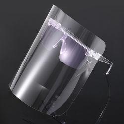 패션 안개가 낀 방지 보안면 실드 안경틀 프레임 양면 얼굴 실드 바이저 보호 마스크