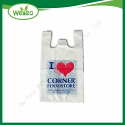 Custom кукурузный крахмал на основе поддающихся биохимическому разложению печатается пластиковой упаковки Bag