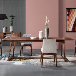 Grande taille de placage bois MDF Table à manger / Écriture de la table