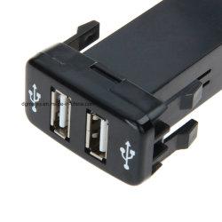 Voitures Toyota Port série 2 chargeur de voiture USB rapide pour iPad iPhone iPod portable MP3 Chargeur de caméra