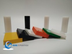 Plásticos Folha de PVC 2mm 3mm 4*8FT Polietileno de Alta Densidade a folha de HDPE para placa de corte ou Bloco Lateral