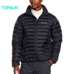 Mens vestuário exterior para baixo Casual Jacket Colar de suporte de moda de Inverno casaco quente