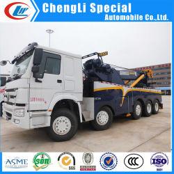 Serviço Pesado 30t/40t/50t caminhão de reboque de emergência rodoviária Guindaste caminhão de reboque do veículo de recuperação de acidentes