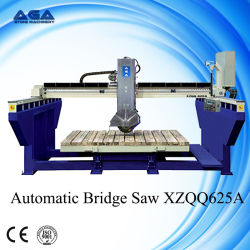 Автоматический Гранит Мост Пила с 360 Таблица Вращения (XZQQ 625A)