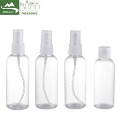 Дорожный набор для пластиковой бутылки/ косметический набор расширительного бачка/ пластиковый поездки набор косметических контейнер