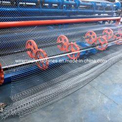 Звено цепи с алюминиевым покрытием толщиной линейке мини-Mesh челночное перемещение машины - Laien машины