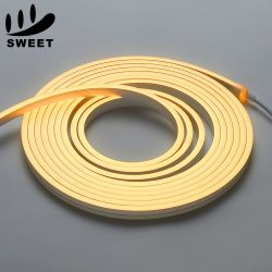4*10mm/16*16mm corde lumière DC12V/24V Imperméable IP68 LED Flexible bande néon plat