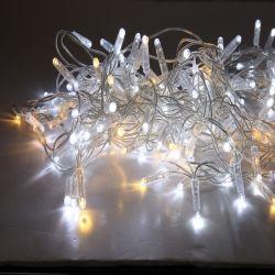 Décoration de motif de pôle de lumière LED de la rue de Noël Jardin lumière à LED