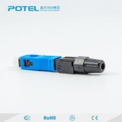 Sc Drop sur le fil moins de perte d'insertion 0.3dB Connecteur rapide