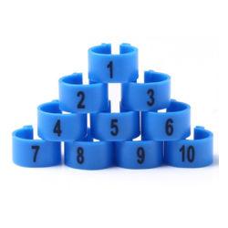 2,7 mm, 3 mm, 4 mm, 4,5 mm, 5 mm Kunststoffring für offene/Clip Bird Beinringe