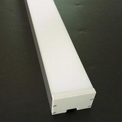 48*31mm de aluminio integrados LED lineal de la ranura de Extrusión de perfil con la caja de PC de extrusión de perfiles de disipador de calor LED LED Barra, con cubierta de PC PARA TUBO LED tiras LED