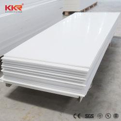 Commerce de gros Corian blanc glacier de dalles de pierre acrylique Surface solide Comptoir matériel (190802)