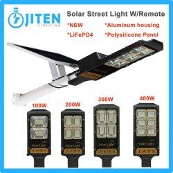 2021 Piscina Iluminação Industrial 100W-400W Painel Solar Power System Rua LED de alta potência de luz LED farol de estrada Jardim do dossel das luzes de parede
