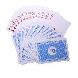 le schede della mazza del PVC di spessore di 0.3 millimetri hanno personalizzato la stampa su ordinazione impermeabile delle schede di gioco