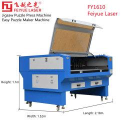 El FY1610 Feiyue 1000 piezas de corte Puzzle madera Non-Metal de CO2 CNC Acrílico Rompecabezas Pulse la máquina rompecabezas de troquel sencillo Puzzle Maker máquina