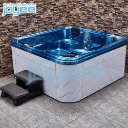 Экономического использования семьи дома сад синий белый юбка массаж джакузи на открытом воздухе горячая ванна спа