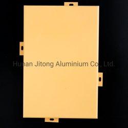 Bâtiment de façade en aluminium externe/Extérieur bardage métallique revêtement mural Mur décoratif Matériaux mur rideau en aluminium Panneau panneau perforé de cassette